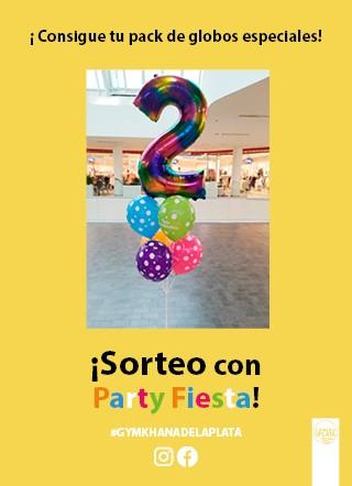 Sorteo con Party Fiesta