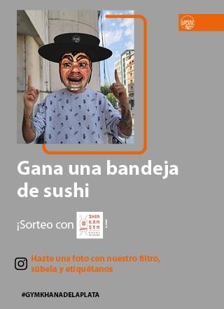 Sorteo Gigantillo con Shinkansen Sushi